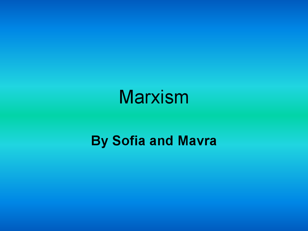 Preview of Marxism, Crime and Deviance