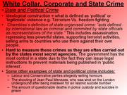 marxism crime and deviance essay Crime- conflict theories like marxism useful for showing how official  theories  useless to explain why certain individuals comitt deviant act of.