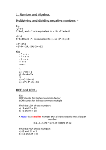 Preview of Maths :)