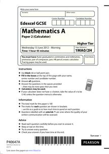 edexcel maths past papers intermediate tier Books edexcel gcse maths past papers intermediate pdf gcse maths: ededcel past papers - the hazeley academy edexcel maths gcse past papers higher tier linear.