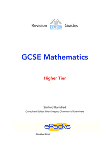 Preview of Maths Revision Guide Higher