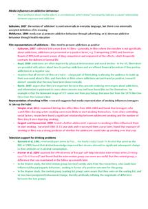 Preview of Media Influences on Addictive Behaviour - Psychology A Unit 4 Edexcel