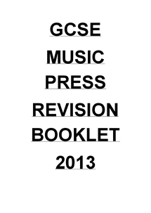 Preview of Media Studies- The Music Press (revision)