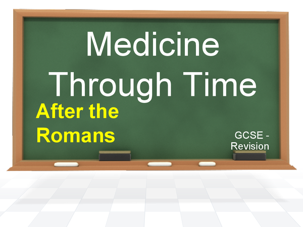 Preview of Medicine Through Time (after Romans, up to end of 20th Century) Revision Cards - GCSE History