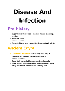 Preview of Medicine Through Time - Disease and Infection