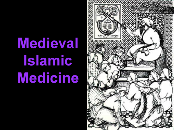 Preview of Medieval Islamic Medicine
