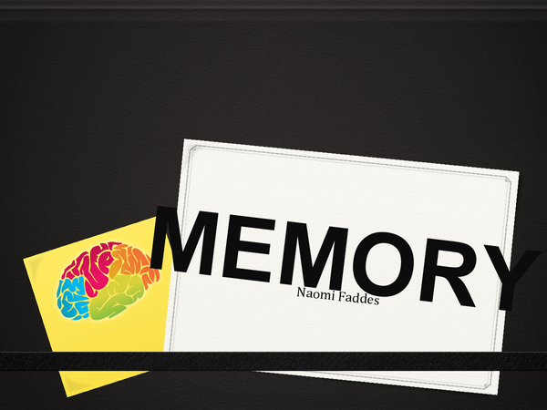 Preview of Memory