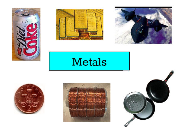 Preview of metals and other uses.