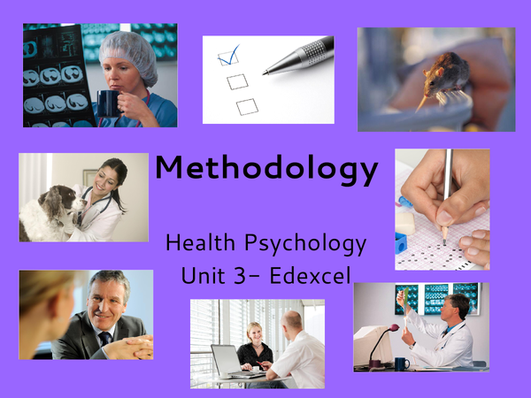 Preview of Methodology: Health Psychology
