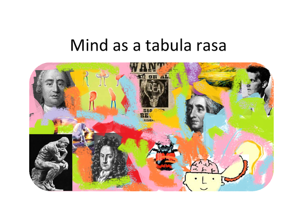 Preview of Mind as a Tabula Rasa