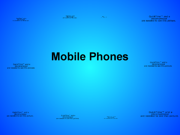Preview of Mobile Phones [ICT]
