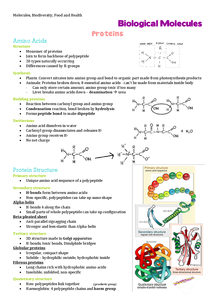 Preview of OCR F212 Molecules, Biodiversity, Food and Health