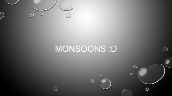 Preview of Monsoon Revision