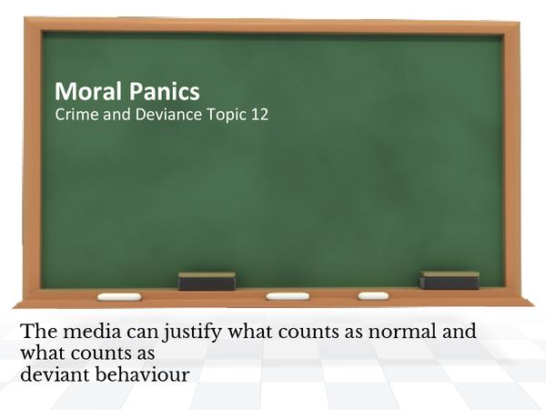 Preview of Moral Panics