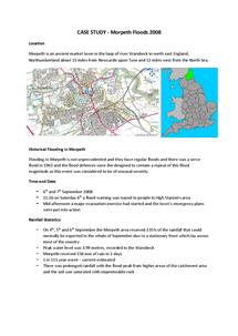 Preview of Morpeth Floods Case Study