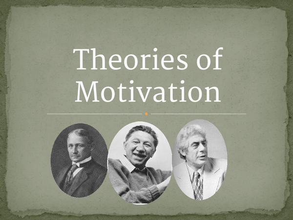 Preview of Motivation Theories