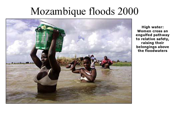 Preview of Mozambique flood case study