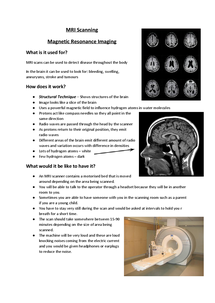 Preview of MRI Scanning