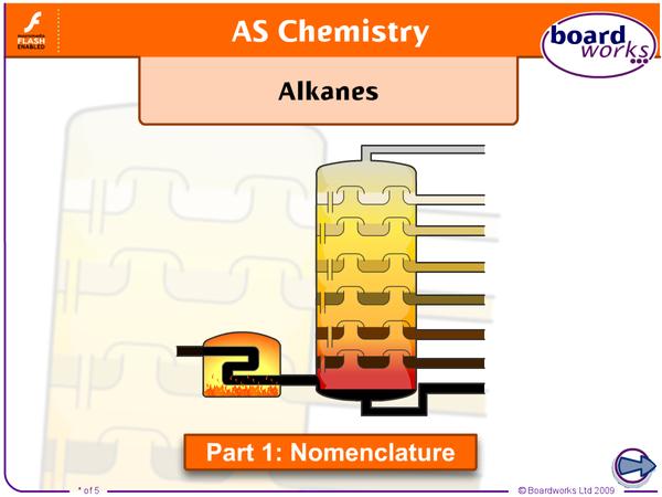 Preview of Naming Alkanes