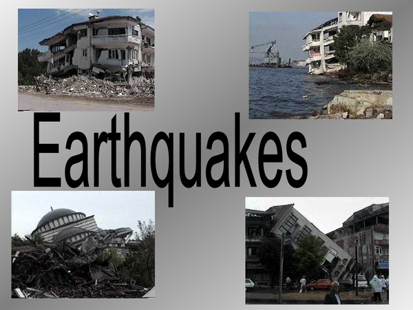Preview of Natural Hazard, Izmit Eartquake