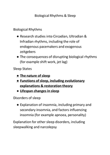 Preview of Nature of Sleep