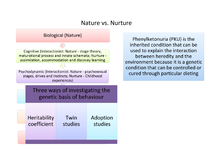 Preview of Nature vs Nurture - What Side Each Approach Takes and Notes