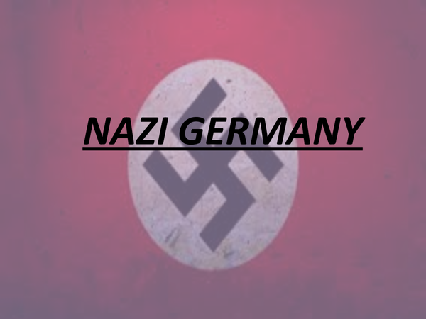Preview of NAZI GERMANY