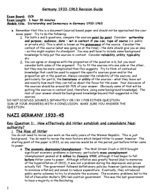 nazi germany as a totalitarian state essay This is the fourth essay in a series devoted to citizenship in a totalitarian state: nazi germany nazi totalitarian germany required german citizens.