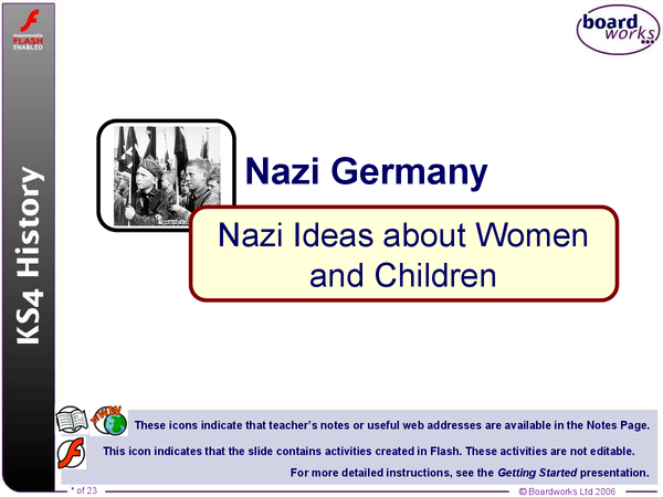 Preview of Nazi Ideas about Women and Children