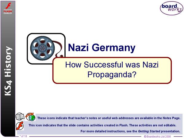 Preview of Nazi Propaganda