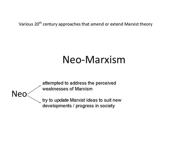 Preview of Neo-Marxism