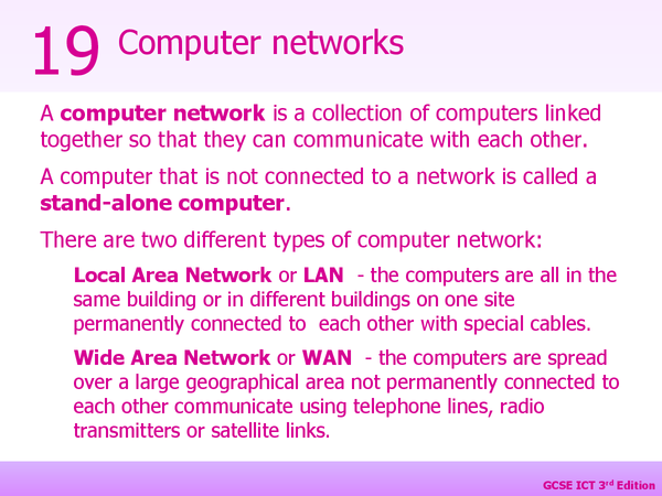 Preview of Networks Presentation