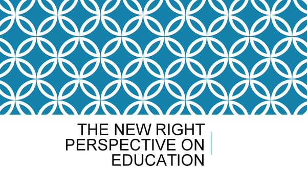 Preview of New Right Perspective on Education
