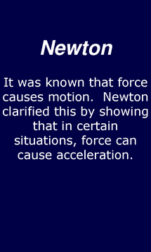Preview of Newton's Laws of Motion - smart phone physics