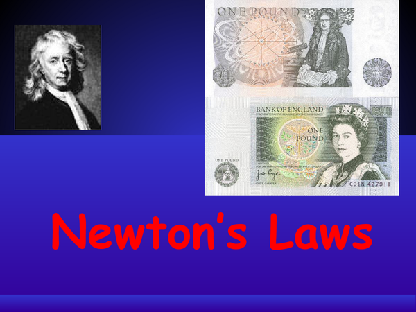 Preview of Newton's Laws Powerpoint