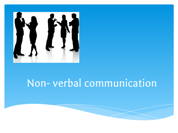 Preview of non verbal communication in nursery setting