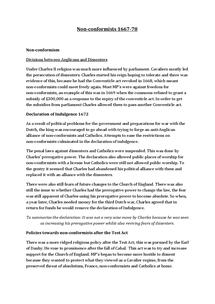 Preview of Nonconformist 1667-78