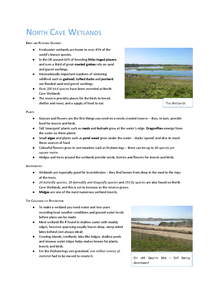 Preview of North Cave Wetlands Nature Reserve Case Study