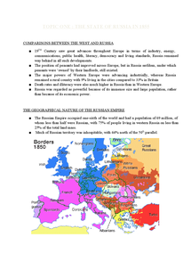 Preview of NOTES ON STATE OF RUSSIA IN 1855