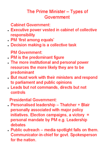 Preview of Notes on the Prime Minister