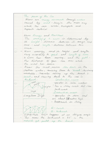Preview of Notes on Wave Energy