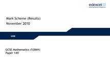 Preview of november 2010 mark scheme