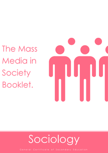Preview of Nubila Education | GCSE Sociology | Mass Media in Society Booklet