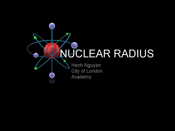 Preview of Nuclear radius