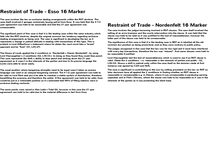 Preview of OCR A2 Contract Law - Special Studies Paper - Jan/June 2013 - Restraint of Trade 16 Markers (1)