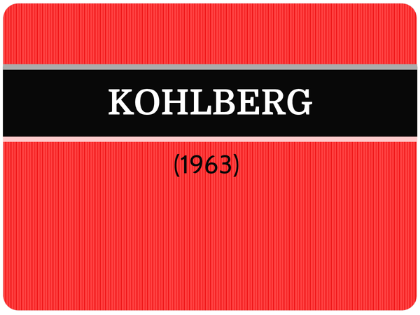 Preview of OCR A2 Forensic Study - KOHLBERG
