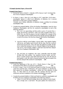 Preview of OCR A2 Law Special Study (Criminal Law) Practice Papers!