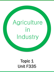 Preview of OCR A2 SALTERS CHEMISTRY F335: Agriculture in Industry