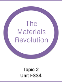 Preview of OCR A2 SALTERS CHEMISTRY F334: Material Revolution