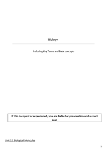 Preview of OCR AS Biology (F212) revision guide